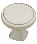 Brainerd Mfg Co/Liberty Hdw P28013-SN-C Cabinet Knob, Ashtyn Round, Satin Nickel, 1.25-In.