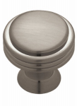 Brainerd Mfg Co/Liberty Hdw PN0100C-BNP-C Cabinet Knob, Nickel, 1-7/64-In.
