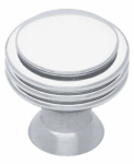 Brainerd Mfg Co/Liberty Hdw PN0100C-PC-C Cabinet Knob, Polished Chrome, 1-7/64-In.