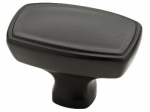 Brainerd Mfg Co/Liberty Hdw P22438-DKG-C Cabinet Knob, Ashtyn Rectangle, Charcoal, 1.5-In.