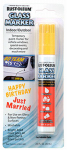Rust-Oleum 267966 Temporary Glass Marker, Yellow, 2/3-oz.