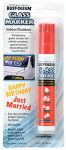 Rust-Oleum 267964 Temporary Glass Marker, Red, 2/3-oz.
