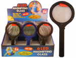 Diamond Visions 08-0260 6 LED Magnifier