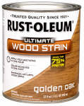 Rust-Oleum 260143 QT Gold Oak INT Wood or Wooden Stain