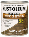 Rust-Oleum 260146 Ultimate Interior Wood Stain, Early American, Qt.