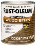 Rust-Oleum 260159 Ultimate Interior Wood Stain, Golden Mahogany, Qt.