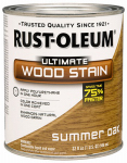Rust-Oleum 260145 Ultimate Interior Wood Stain, Summer Oak, Qt.