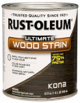 Rust-Oleum 260154 QT Kona INT Wood or Wooden Stain