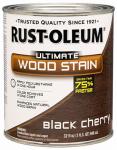 Rust-Oleum 260152 Ultimate Interior Wood Stain, Black Cherry, Qt.