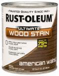 Rust-Oleum 260148 Ultimate Interior Wood Stain, American Walnut, Qt.