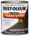 Rust-Oleum 271130 QT Wea GRY INT Wood or Wooden Stain