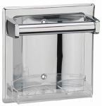 Homewerks Worldwide 180816 Recessed Soap Holder, Chrome