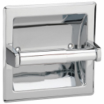 Homewerks Worldwide 180818 Recessed Tissue Paper Holder, Chrome