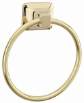 Homewerks Worldwide 180821 Towel Ring, Polished Brass