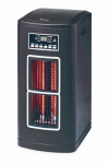 Ningbo Konwin Electrical Appliance GD8115BP-L Infrared Tower Heater, Timer & Remote, 1500-Watts