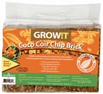 Hydrofarm JSCCB Coco Coir Chip Brick, 3-Pk.