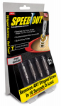 Ontel Products 1000246 Speedout Damaged Screw & Bolt Remover