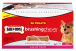 Jm Smucker Retail Sales 10079100006103 Brushing Chews Daily Dental Treat, 36-Ct. Mini