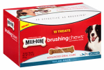 Jm Smucker Retail Sales 10079100006202 Brushing Chews Daily Dental Treat, 18-Ct. Small/Medium