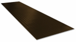 Tenex F6419125 Ribbed Stair Tread, Brown, 8.75 x 24-In.