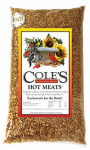 Coles Wild Bird Products HM20 Hot Meats Wild Bird Food, Sunflower Meats With Chilies, 20-Lbs.