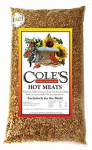 Coles Wild Bird Products HM05 Hot Meats Bird Food, Sunflower Meats With Hot Chilies, 5-Lbs.