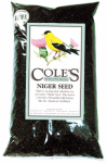 Coles Wild Bird Products NI20 Wild Bird Food, Niger Seed, 20-Lbs.