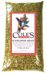Coles Wild Bird Products SM05 Wild Bird Food, Sunflower Meats, 5-Lbs.