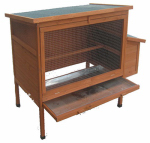 Merry Products PH0130010010 Chicken Coop With Nesting, 28 x 52.9 x 39.2-In.