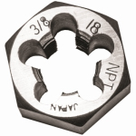 Irwin Industrial Tool 7004 Hexagon Die, 3/8-In. x 18 NPT