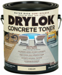 United Gilsonite Lab 24213 Concrete Toner, Water-Base, Cream, 1-Gal.