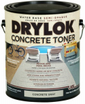 United Gilsonite Lab 24113 Concrete Toner, Water-Base, Gray, 1-Gal.