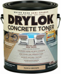 United Gilsonite Lab 24313 Concrete Toner, Water-Base, Maple Brown, 1-Gal.