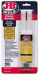 J-B Weld 50133 Plastic Bonder Epoxy Syringe, 25-ml