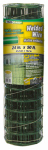 Midwest Air Tech/Import 308349A Welded Wire Fence, Green PVC, 14 Gauge, 24-In. x 50-Ft.
