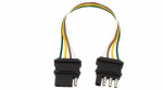 Uriah Products UE048145 Trailer Connector, 4-Wire, 12-In.