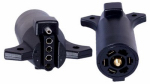 Uriah Products UE725000 RV Trailer Connector Adapter, 7-Way to 5-Flat
