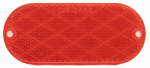Uriah Products UL480001 RED Trail Reflector