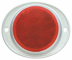 "Uriah Products UL472001 3"" RED Trail Reflector"