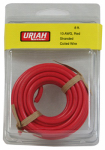 Uriah Products UA501050 Automotive Wire, Insulation, Red, 10 AWG, 8-Ft.
