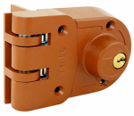 Yale Security V197 1-4 Jimmy-Proof Surface-Mounted Double-Cylinder Deadbolt