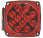 Uriah Products UL840001 SQ LED Stop/Turn Light