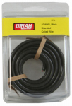 Uriah Products UA501070 Automotive Wire, Insulation, Black, 10 AWG, 8-Ft.