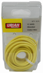 Uriah Products UA501240 Automotive Wire, Insulation, Yellow, 12 AWG, 12-Ft.