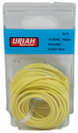 Uriah Products UA501640 Automotive Wire, Insulation, Yellow, 16 AWG, 30-Ft.