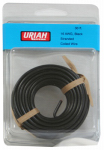 Uriah Products UA501670 Automotive Wire, Insulation, Black, 16 AWG, 30-Ft.
