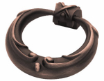 Brainerd Mfg Co/Liberty Hdw PN1512-VBR-C Cabinet Pull, French Lace Ring, Bronze & Copper, 2-In.