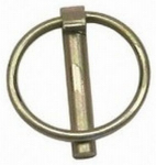 Double Hh Mfg 81911 Lynch Pin, Category 0, Yellow Zinc-Plated, 3/16 x 1-1/8-In.