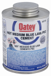 Oatey 32162 Lava PVC Cement, Blue, 16-oz.