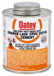 Oatey 32166 Lava CPVC Cement, Orange, 8-oz.